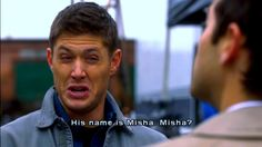 """""""Misha? Jensen? What's up with the names around here?"""" This episode was great!"""