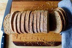 oat and wheat sandwich bread | smittenkitchen.com
