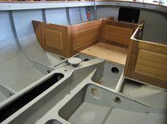 20 ft. classic daysailer, yacht design., Groningen, 2011