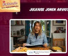 Kotiuuni kampanj.. Pullakahvit Jone Nikulan kanssa