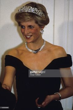 November 2, 1987: Prince Charles & Princess Diana attended a state banquet in Bonn, Germany.