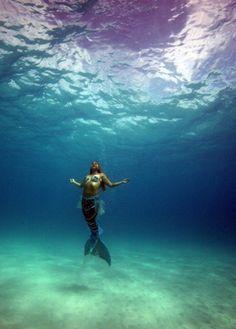 allmermaids:  Dana Marie, Mermaid of the Sea, photo by Lisa Denning