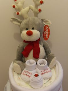 Christmas Nappy Cake