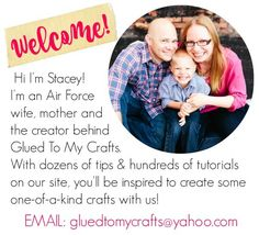 Hello and welcome! I'm so glad to you want to advertise with Glued To My Crafts. First, let me tell you a little bit more about myself (Stacey) and this awesome craft website you have stumbled upon today! Glued To My Crafts is a crafty/mommy blog where I share tons of kid friendly crafts, DIY …