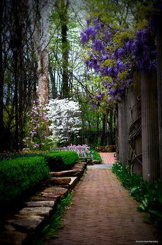 The gardens at Minnetrista Gardens- Muncie Indiana