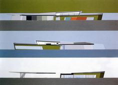 Zaha Hadid (1950 – 2016) | Vitra Fire Station | Weil am Rhein, Germany | 1994 | http://www.zaha-hadid.com/