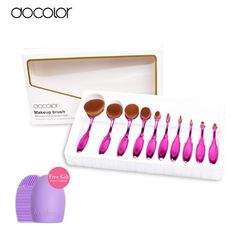 Love these purple makeup brushes? Get it at $26.24 with code AGOACYNC http://amzn.to/24kJI8r