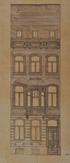 Schaerbeek - Rue de Brabant 254-256, 260, 266, 268, 270