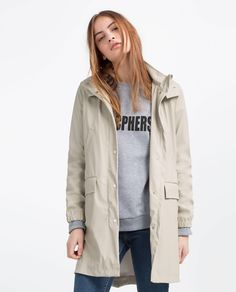 RAINCOAT WITH POCKETS | ZARA United States