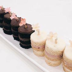 Chocolate Baileys & Raspberry Lime cakelets | Winifred Kristé Cakes #winifredkristecake