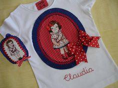 Camiseta y diademas Claudia 2