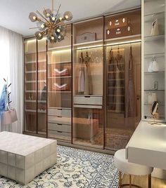 Inspire yourself with great ideas for the home in seconds. Exclusively curated from talented interior designers. The future of interior design. Home Design Decor, Home Room Design, New Interior Design, House Design, Home Decor, Design Design, Wardrobe Room, Wardrobe Design Bedroom, Closet Bedroom