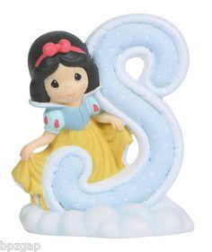 Precious Moments Disney Snow White Letter s Figurine 114463 | eBay