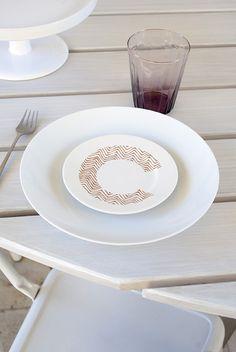 ABC - porcelain dishes - ilariai.com