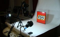 Make a home studio on your desk for doing lego animation. #Spectrumlearn #STEM #Lessons