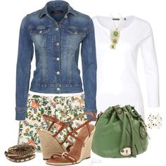My Style - Summer Casual, created by fantasy-closet on Polyvore