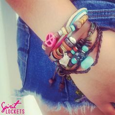 Go for the relaxed Boho look with Spirit Lockets! #classic #bohochic