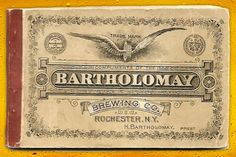 Image detail for -Tagged: graphics inspiration , Juxtapoz , Vintage Beer Labels