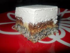 Erzsébet királyné tortája, avagy a Sissi süti :) Nálunk nagyon sokszor készül ez a süti, mert a család nagy kedvence. Aki eddig kós... Cake Bars, Cheesecake, Food And Drink, Yummy Food, Sweets, Meals, Cooking, Recipes, Cakes