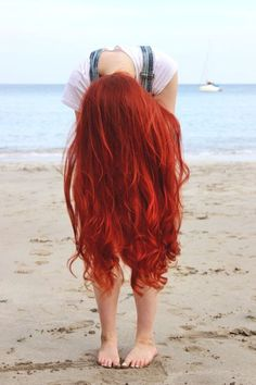 How to do the Messy Mermaid Braid – Lavish Braids Punky Hair, Beautiful Red Hair, Mermaid Hair, Mermaid Beach, Red Hair Color, Red Orange Hair, Dyed Red Hair, Hair Images, Dream Hair