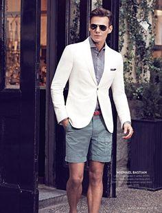 Men's summer style // Alex Lundqvist for Holt Renfrew by Max Abadian