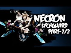 How To Paint Necron Lychguard - Part 2 - YouTube