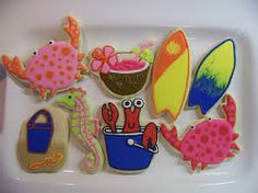 Image result for summer cookies