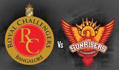IPL 2017: Royal Challengers Bangalore vs Sunrisers Hyderabad, Today Match at 8:00 PM (M. Chinnaswamy Stadium, Bengaluru