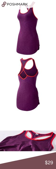 New Balance Women's Size L Fashion Tank WT53124IPH Brand New, With Box, 100% Authentic  New Balance WT53124 New Balance Fashion Tank  WT53124 IPH Color:  Imperial Purple Heather  Women's Size: L Original Price: $56.50  More style and size on: 1) K&F Facebook page : https://www.facebook.com/stkandf/shop 2) ebay shop: http://stores.ebay.com/kf 3) https://www.bonanza.com/booths/henrylhg 4) http://www.buyalot.net  Thank you for looking at my item. New Balance Tops Tank Tops