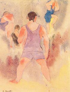Charles Demuth - Bathers