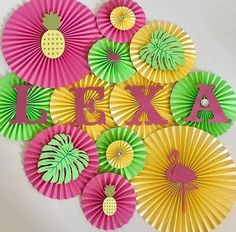 Pineapple Themed Backdrop, Pineapple Party, Flamingo Theme Party, Luau Party Ideas, Party Like a Pineapple, Tropical Party, Pineapple Party Decorations, Backdrops