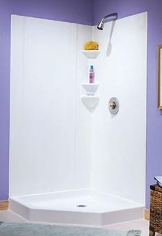 247 DURAWALL® Deluxe Thermoplastic Shower Walls for Square ...