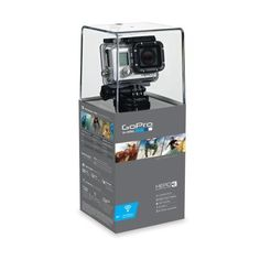 The GoPro HD HD Silver Edition camera is the worlds most recognizable mobile camera. Now with enhanced low light capabilities and enabled wifi you can film it all no matter the weather with this high tech little GoPro Silver Edition digi Gopro Hd, Gopro Camera, Camera Gear, Gopro Hero 3 Silver, Action Cam, Smartphone, 3d Video, Waterproof Camera, Black Edition
