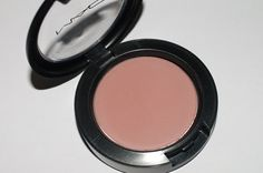 MAC Matte Powder Blush in blushbaby ...I love this and Pinch me... both are good neutral blushes! for my medium to light olive skin.