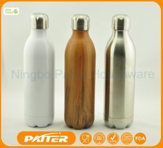 500ML-1000ML Double Wall Stainless Steel Sports Water Bottle