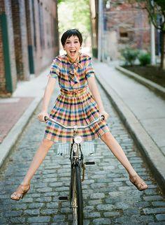 Andare in bicicletta is FUN!!!!