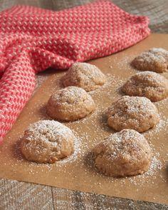 Toffee Pecan Snowdrop Cookies