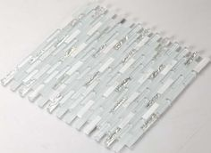 Wholesale Stone with Frosted Crystal Mosaic Tile Sheet Backsplash of Wall Stickers Washroom Bedroom Kitchen MA006