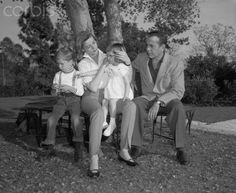 Stephen, Betty, Leslie, & Bogie