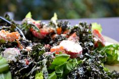 Eat Your Greens on Pinterest | Kale, Swiss Chard Chips and Kale Salads