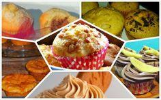 Recetas de magdalenas, muffins y cupcakes   Cocinar en casa es facilisimo.com