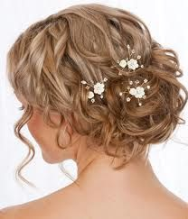 up do with small white flowers
