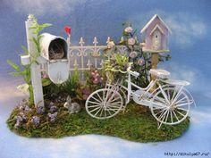Идеи домиков для сказочного сада, фото