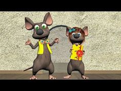 Mouse sing Happy Birthday To You - Funny Happy Birthday Song. Mouse sing Happy Birthday To You -