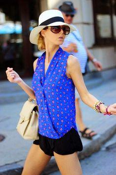 12 matching outfits for Panama hats | Atte. Carmen http://atentamente-carmen.blogspot.com.es/ #fashion #hat #outfithat