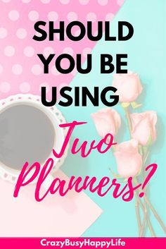 Should you be using two daily planners? Is having one planner for personal life and one for business a good idea? Planner Tips, Free Planner, Happy Planner, Mom Planner, Passion Planner, Filofax, Organized Mom, Organized Planner, Daily Planners
