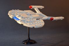 Enterprise Nx 01, Star Trek Enterprise, Lego Star Trek, Star Trek Memorabilia, Trek Ideas, Star Trek Merchandise, Lego Tv, Lego Universe, Lego Ship