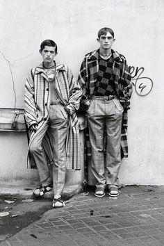 justdropithere:  Paul Barge & Charlie Ayres Taylor by Johan Sandberg - Dapper Dan Magazine, SS15