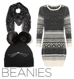 """""""Beanies"""" by subvilli ❤ liked on Polyvore featuring WearAll, Yves Saint Laurent, Kate Spade and pompombeanies"""