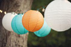 Fairytale Creations Orange and Teal Wedding - The Wedding Chicks